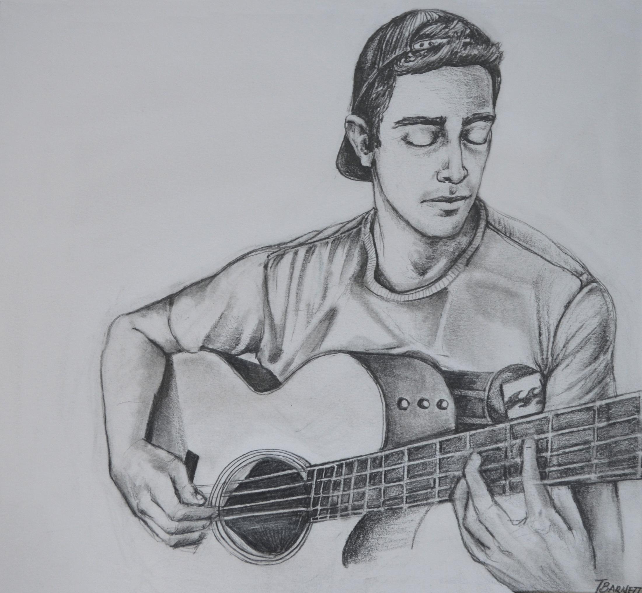 guitar-player-sketch