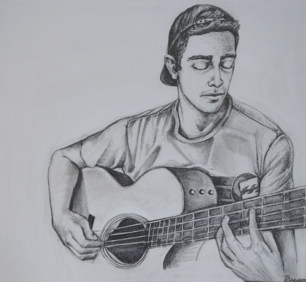 guitar-player-sketch