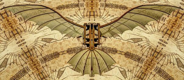 leonardo-da-vinci-antique-flying-machine-under-parchment-nenad-cerovic