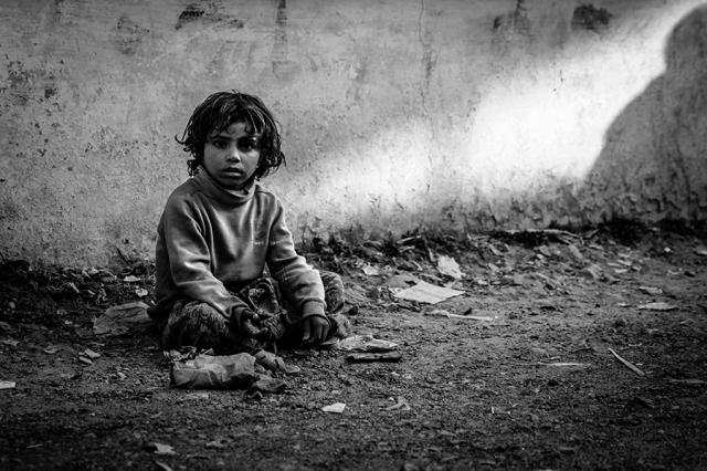 Portrait Of Poverty
